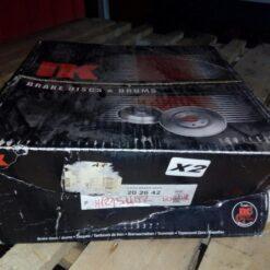 Диск тормозной задний Honda CR-V 2002-2006 42510SCAE50, 42510SWAA00, 42510SWWG01 1