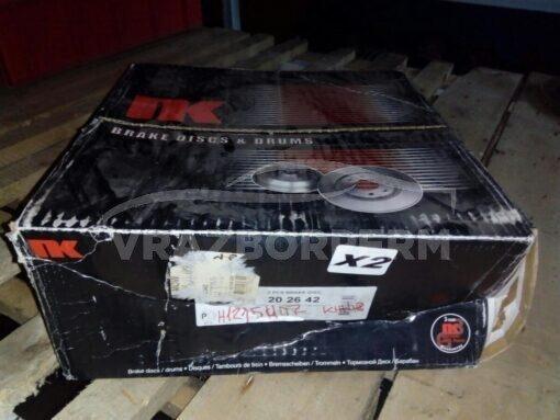 Диск тормозной задний Honda CR-V 2002-2006  42510SCAE50, 42510SWAA00, 42510SWWG01