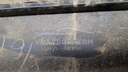 Накладка двери (молдинг) задн. прав. Toyota Highlander II 2007-2013  7507548030