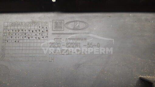 Накладка двери (молдинг) передн. лев. VAZ Chevrolet NIVA  212308212141550
