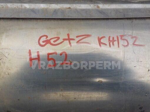 Глушитель выхлопных газов Hyundai Getz 2002-2010  286101C580, 286101C620, 287001C560, 287301C570, 287301C050