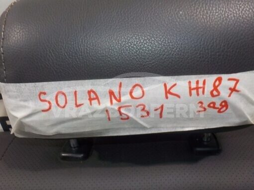 Сиденье заднее Lifan Solano 2010-2016  B7005200B15, B7005100B15, B7008100B15, B7005300B15, B7003000B15