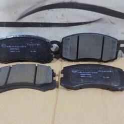 Колодки тормозные передние Mitsubishi Lancer (CS/Classic) 2003-2008 MR569233, MN116604, MZ690185 1