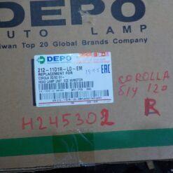 Фара правая Toyota Corolla E12 2001-2007 8117002150, 21211D1RLDEM 4