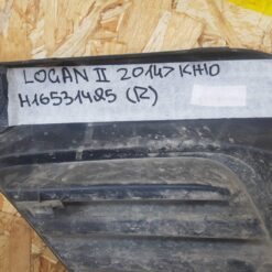 Решетка бампера переднего правая (без ПТФ) Renault Logan II 2014> 269113997R 3