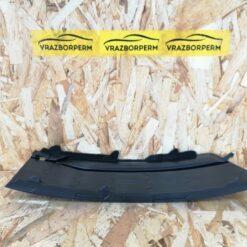 Решетка бампера переднего левая (без ПТФ) Skoda Rapid 2013-2020 5JA807367A9B9 1