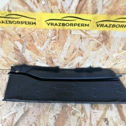 Решетка бампера переднего левая (без ПТФ) Skoda Rapid 2013-2020 5JA807367A9B9 2