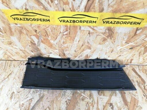 Решетка бампера переднего левая (без ПТФ) Skoda Rapid 2013-2020  5JA807367A9B9
