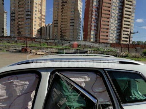 Рейлинг крыши левый Volkswagen Touareg 2010-2018  7P6860043BSTY, 7P0860201, 7P0860197A