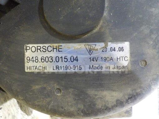 Генератор Porsche Cayenne 2003-2010  94860301502, 94860301503, 94860301504, 94860301505