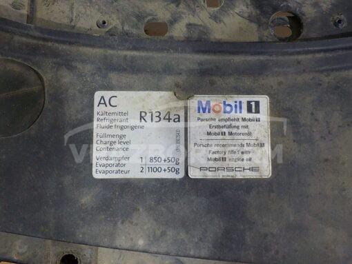 Панель передняя (телевизор) Porsche Cayenne 2003-2010  95550559400, 95550559402, 95550559401