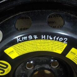 Диск запасного колеса (докатка) Volkswagen Touareg 2002-2010 95536205010, 95536205011, 9553620501003C, 4L0601010A, 7L0601011C 1
