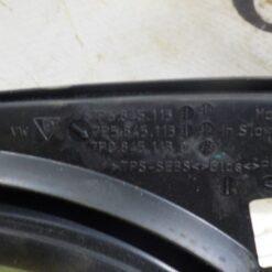 Стекло кузовное глухое переднее левое (форточка) Volkswagen Touareg 2010-2018 7P0845113D 4
