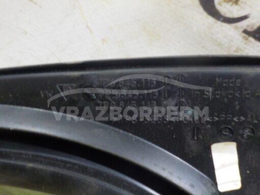 Стекло кузовное глухое переднее левое (форточка) Volkswagen Touareg 2010-2018  7P0845113D