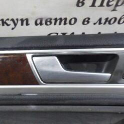 Обшивка двери передней левой (дверная карта) Volkswagen Touareg 2010-2018 7P1867013ABY0Y, 7P1867013APY0Y 3