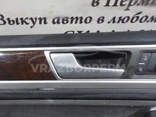 Обшивка двери передней левой (дверная карта) Volkswagen Touareg 2010-2018  7P1867013ABY0Y, 7P1867013APY0Y
