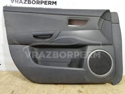 Обшивка двери передней левой (дверная карта) Mazda Mazda 3 (BK) 2002-2009  bp4k684n1