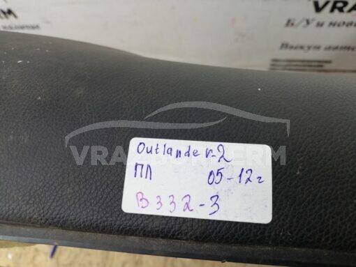Обшивка двери передней левой (дверная карта) Mitsubishi Outlander XL (CW) 2006-2012  7221b157zz
