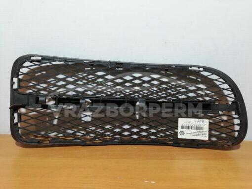Решетка бампера переднего левая (без ПТФ) Volkswagen Touran 2003-2010   7L6853678F9B9