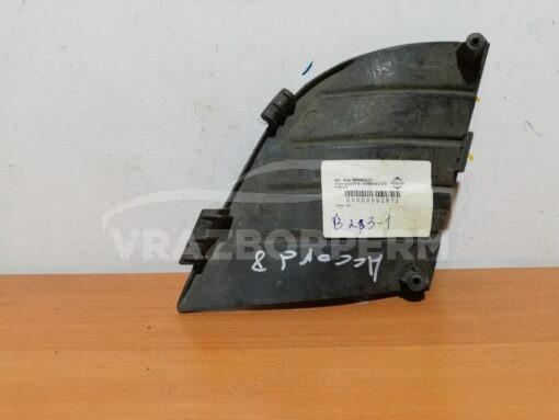 Решетка бампера переднего правая (без ПТФ) Honda Accord VIII 2008-2015