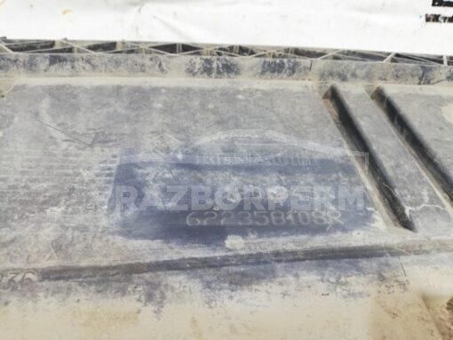 Пыльник бампера (защита) передний центр. Renault Kangoo 2008>  622358108R