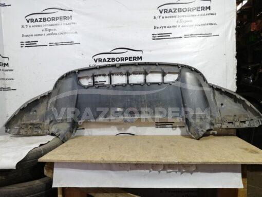 Спойлер бампера (юбка) передн. центр. Porsche Cayenne 2010-2017  7p5807061d