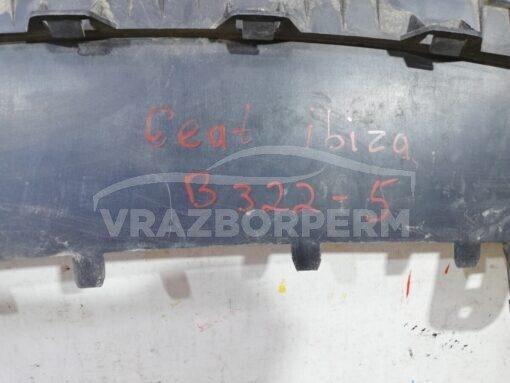 Спойлер бампера (юбка) передн. центр. Seat Ibiza V 2008-2017  6j0805903