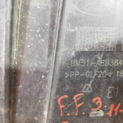 Пыльник бампера (защита) передний центр. Ford Focus III 2011> bm51a8b384a 3