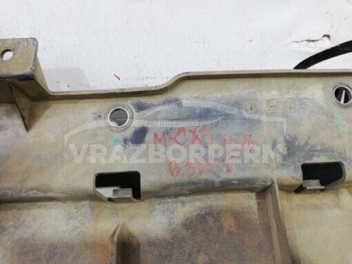 Пыльник бампера (защита) передний центр. Mazda CX 5 2012-2017  kd53500s1