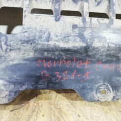 Пыльник бампера (защита) передний центр. Chevrolet Cruze 2009-2016 95937532 4