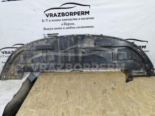 Пыльник бампера (защита) передний центр. Renault Clio III 2005-2012  01040185004