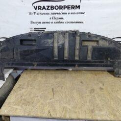 Пыльник бампера (защита) передний центр. Renault Clio III 2005-2012 01040185004 1