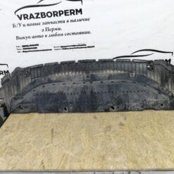 Пыльник бампера (защита) передний центр. Audi A6 [C7,4G] 2011> 4g0807611e 1