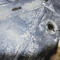 Пыльник бампера (защита) передний центр. Audi A6 [C7,4G] 2011> 4g0807611e 3