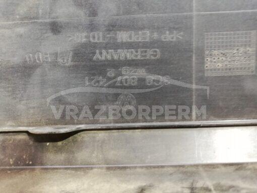 Бампер задний Volkswagen Passat [B6] 2005-2010  3c9807421