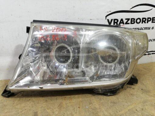 Фара левая перед. Toyota Land Cruiser (200) 2008>  8117060C82