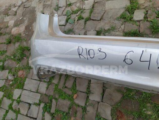 Бампер задний Kia RIO 2011-2017  866114y000