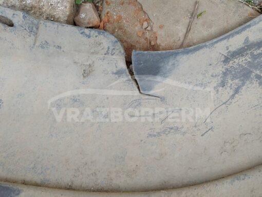 Бампер задний Volkswagen Polo (Sed RUS) 2011-2020  6ru807421