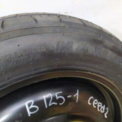 Диск запасного колеса (докатка) Kia Ceed 2012> 529101H900 1
