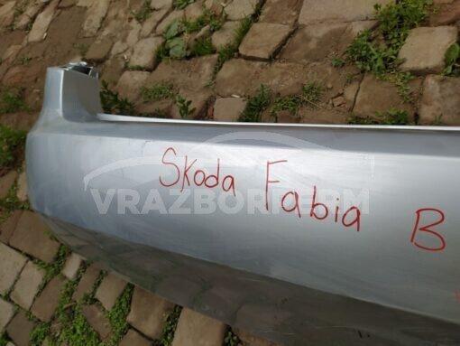 Бампер задний Skoda Fabia 2007-2015  5JU807421