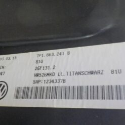 Консоль центральная Volkswagen Touareg 2010-2018 7p1863241b 1