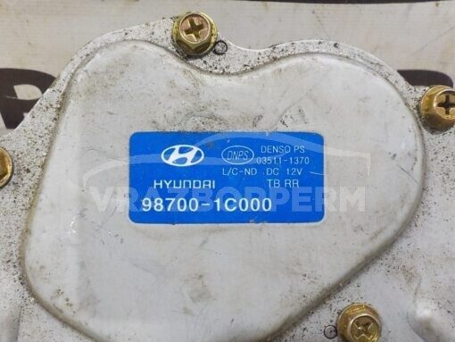 Моторчик стеклоочистителя заднего Hyundai Getz 2002-2010  987001C000