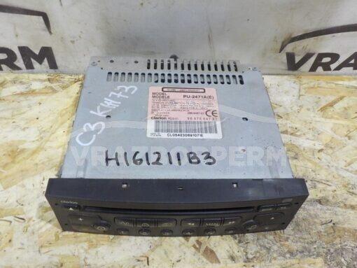 Магнитола Citroen C3 2002-2009  657920
