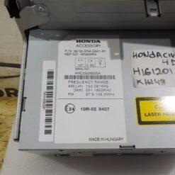 Магнитола Honda Civic 4D 2006-2012 39100SNAG22ZB 2