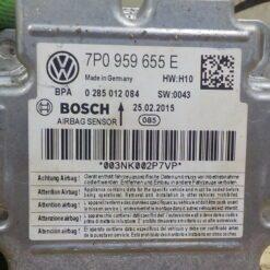 Блок управления AIR BAG Volkswagen Touareg 2010-2018 7P959655E 6