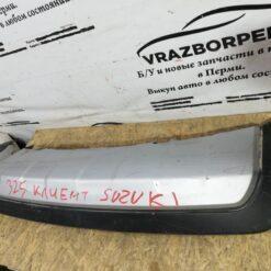 Спойлер бампера (юбка) задн. Suzuki SX4 2006-2013  7186155l0