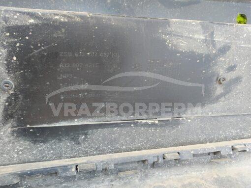 Бампер задний Seat Ibiza V 2008-2017  6j3807421e