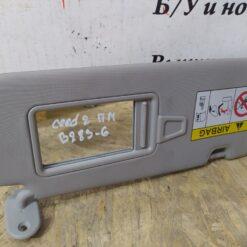Козырек солнцезащитный (внутри) перед. прав. Kia Ceed 2012>   85220A2400ED